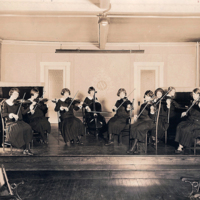 Notre Dame Academy - Dayton, 1920s Music Room