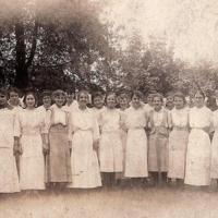 Notre Dame Academy - Hamilton, Freshman Class 1915