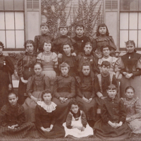 Notre Dame Academy - Hamilton, early Students