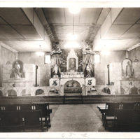 Our Lady of Perpetual Help - Glendale, Church Interior Before Fire