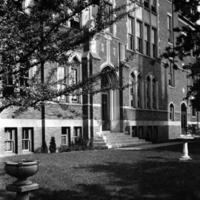 Notre Dame High School - Hamilton, Front Entrance