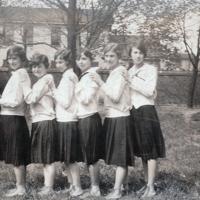 Notre Dame High School - Hamilton, Senior Basketball Team 1927