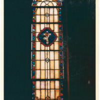 West Rittenhouse Square Chapel Window with Sacred Heart