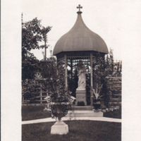 Franklin Street Convent - Dayton, Garden Statue of Mary and Child