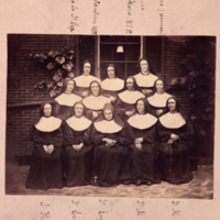 Sixth Street Early Sisters with Sister Rosine