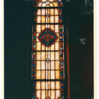 West Rittenhouse Square Chi Rho Window