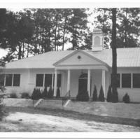 Notre Dame Academy - Southern Pines, Front Entrance 1937