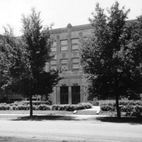 Notre Dame High School - Chicago, Front Entrance, 1963