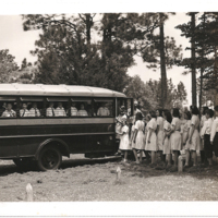 Notre Dame Academy - Southern Pines, School Bus