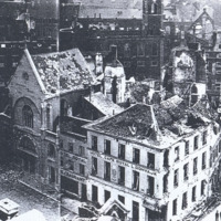 Bombed buildings 1940-1945