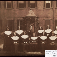 Sixth Street Early Sisters with Provincial Superior, Sister Julia