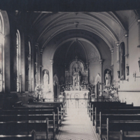 Franklin Street Convent - Dayton, Chapel with St Julie Statue