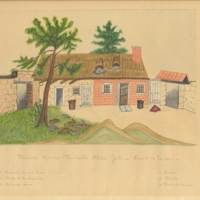 Drawing of St Julie's Family Home