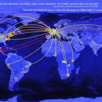Expansion mondiale des Sœurs de Notre-Dame