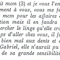 Lettre Carmelite, transcription