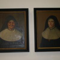 Portraits de St Julie et Mère Saint-Joseph à Nouveau-Bois