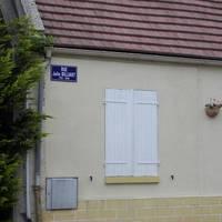 rue Julie Billiart Sign