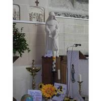 St Eloi Interior with St Julie Statue