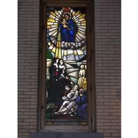 Chapelle publique window